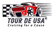 Tour de USA Sticky Logo