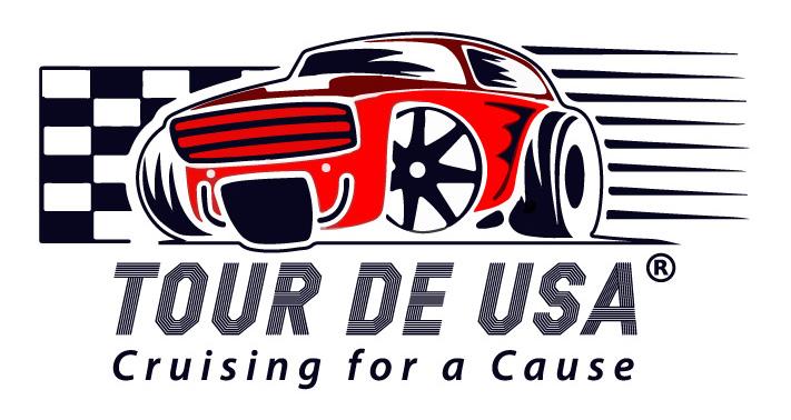 Tour de USA Retina Logo